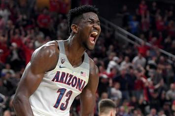 Arizona's DeAndre Ayton Declares For 2018 NBA Draft