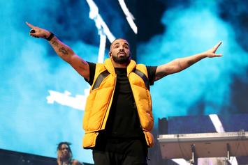 "Drake Comes Out During French Montana's Concert To Perform ""God's Plan"""