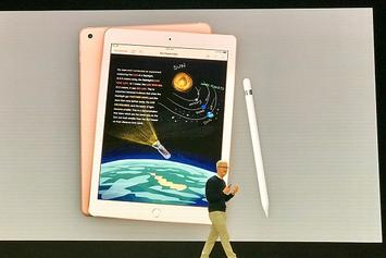 Apple Education Event Footage Reveals New Products