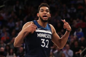 Karl-Anthony Towns Sets Timberwolves Scoring Record