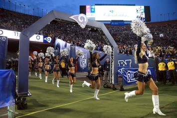 Los Angeles Rams Make History By Adding Male Cheerleaders