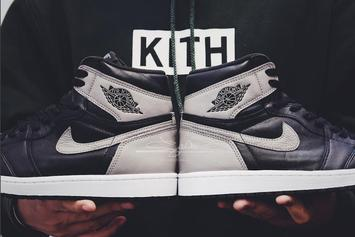 """Shadow"" Air Jordan 1 Gets April Release Date"