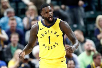 "Lance Stephenson Debuts ""Fortnite"" Air Jordan 16"