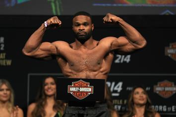 Dana White Says Tyron Woodley Can't Fight Until August Per Doctor's Orders