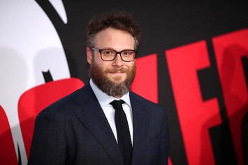 Seth Rogen Recalls Smoking Weed In Front Of Steven Spielberg