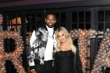 Tristan Thompson Reportedly Kisses Woman That's Not Khloe Kardashian