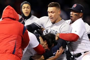 Yankees, Red Sox Brawl At Fenway Park