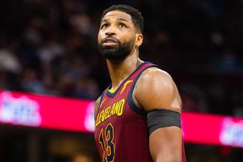 Tristan Thompson Seen Leaving The Hospital Where Khloe Kardashian Gave Birth