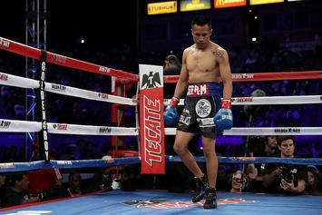 "Boxer Wearing ""America 1st"" Trunks Pummelled By Mexican Opponent"