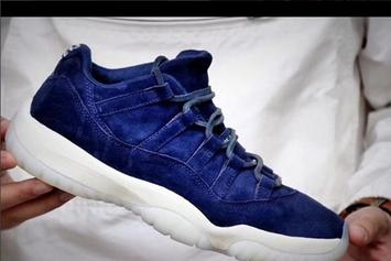 "Derek Jeter's ""RE2PECT"" Air Jordan 11 Low Release Date Announced"