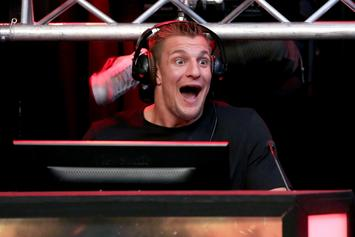 "Rob Gronkowski Flexes Some Interesting Dance Moves To Avicii's ""Levels"""
