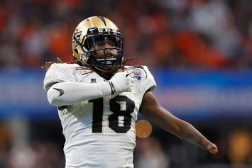 NFL Draft Prospect Shaquem Griffin Shoots His Shot At Olympic Sprinter
