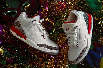 "Air Jordan 3 ""Katrina"" Official Images & Release Info Revealed"
