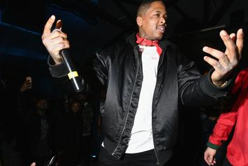 """YG Shows Kanye West Love, But It's """"F*ck Trump"""" As Usual"""
