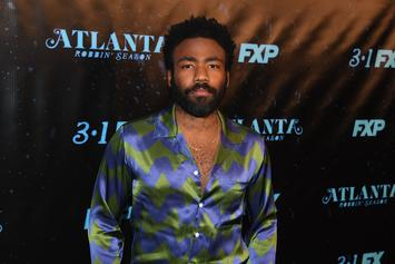 Donald Glover Spotted Out & About With Girlfriend And Two Kids