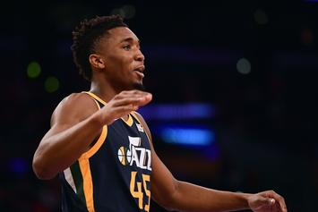 """Donovan Mitchell On Epic Dunk: """"I Just Happened To Be Up There"""""""