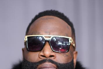 Rick Ross & Lira Galore Pose Together For Paper Magazine