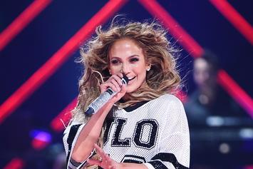 Jennifer Lopez's Little Black Dress Turns Heads At Latin Billboard Awards
