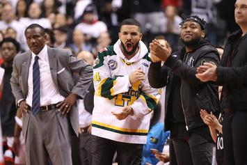 """NBA Issues Drake A Warning Over """"Use Of Bad Language"""": Report"""