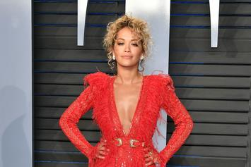 Rita Ora Slays In Tezenis Lingerie