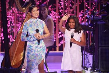 Jhené Aiko And 9-Year-Old Namiko Perform The Cutest Mother-Daughter Duet