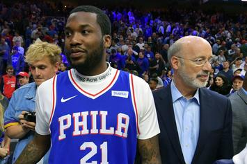 Meek Mill Makes NBA Finals Prediction, Advocates For LeBron To Join Sixers