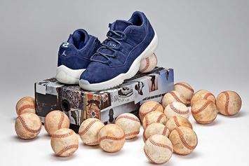 "Derek Jeter x Air Jordan 11 Low ""RE2PECT"" Drops Today"