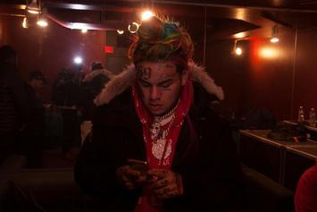 Tekashi 6ix9ine Says People Are Too Scared To Book Him At Rolling Loud