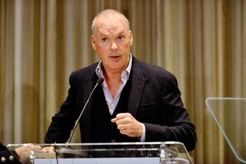 "Michael Keaton Declares ""I'm Batman"" During Commencement Speech"