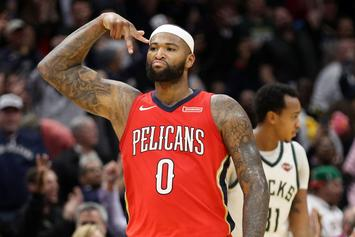 "DeMarcus Cousins ""Very Open"" To Resigning With New Orleans"
