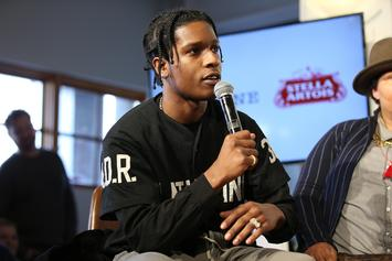 """A$AP Rocky Unveils """"Testing"""" Album Cover; Project To Feature Kid Cudi & Skepta"""