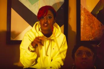 "Rapsody Throws A House Party In ""Pay Up"" Music Video"