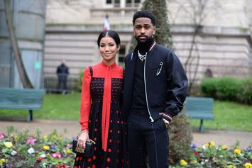 Jhene Aiko & Big Sean Finally Reunite For Award Ceremony Picture