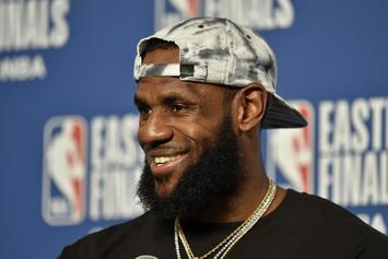 "LeBron James Befriends Journalist That Implied ""He's Been Clutch His Whole Career"""