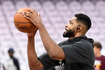 """Tristan Thompson """"Emotionally and Physically"""" Beat Up From Cheating Fallout"""