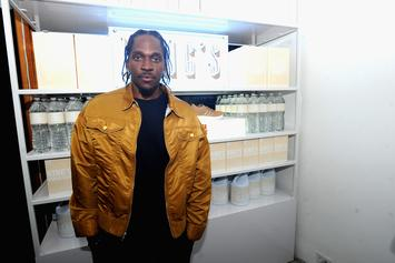 """Pusha T Talking To Producer Who Accused Drake of Stealing """"Scary Hours"""" Artwork"""