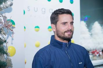 Scott Disick Seen Flirting With Mystery Woman During Kanye West's Listening Party