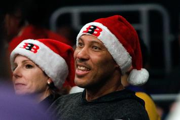 "LaVar Ball Tells NFL Players Protesting National Anthem ""Get Your Own League"""