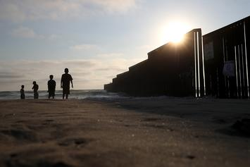 Construction On San Diego Portion Of Trump's Border Wall Begins
