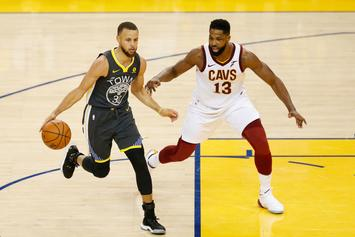 Tristan Thompson Walks Out Of Interview After Question About Steph Curry