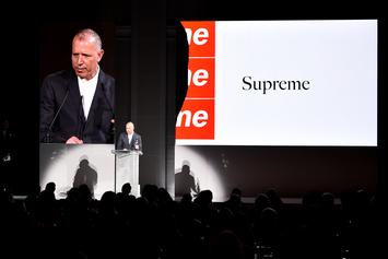Supreme Awarded Menswear Designer Of The Year