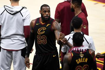 LeBron James Says He Played With A Broken Hand Since Game 2 Of Finals