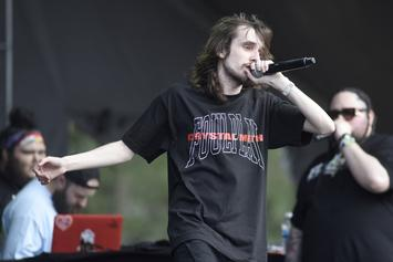 "Pouya Set To Combat His ""Extreme Anxiety & Fear Of Flying"" With European Tour"