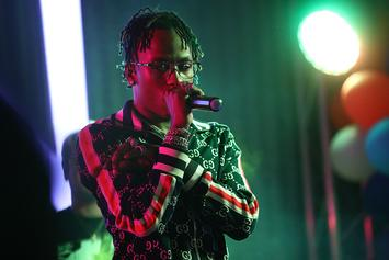 Rich The Kid Chases Taxi Driver After He Threw Something At His Car