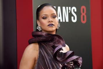 Rihanna Says She's In The Studio Working On New Music