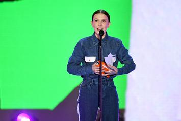 """Stranger Things"" Actors Millie Bobby Brown & Noah Schnapp Given Netflix Spotlight"