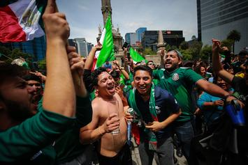 World Cup Celebration Causes Artificial Earthquake In Mexico City