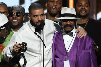 Drake Surprises His Dad With Blue Bentley For Father's Day