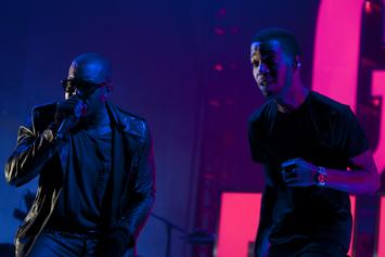 "Kanye West & Kid Cudi's ""KIDS SEE GHOSTS"" Debuts At #2 On Billboard 200 Chart"