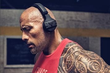 The Rock Introduces His New Under Armour Headphones